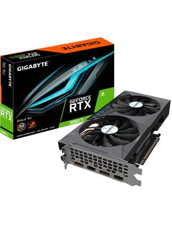 Gigabyte GeForce RTX 3060 Ti EAGLE 8 GB, PCI-E, näytönohjain