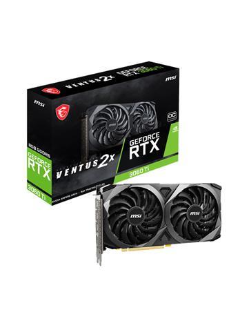 MSI GeForce RTX 3060 Ti VENTUS 2X OCV1 8 GB, PCI-E, näytönohjain