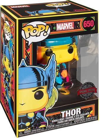 Marvel - Black Light - Thor Vinyl Figure 650 (figuuri) - Funko Pop! -figuuri - Unisex - multicolor