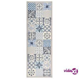 vidaXL keittiön pestävä matto Mosaic 45x150 cm