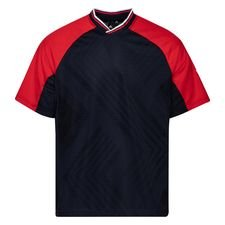 adidas T-paita Jacquard - Navy/Punainen