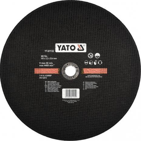 Katkaisulaikka metalli Yato YT-61132; 355x3,2x25,4 mm