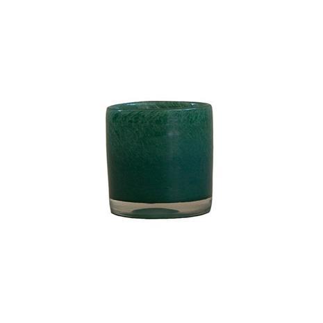 Olsson & Jensen Nilla kynttilälyhty 8 cm Vihreä