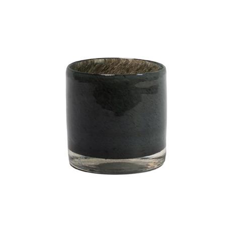 Olsson & Jensen Nilla kynttilälyhty 10 cm Tummanharmaa