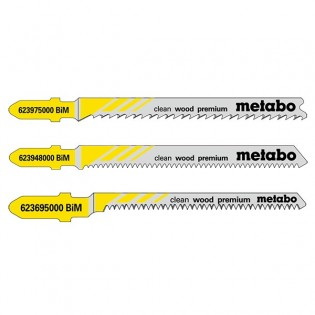 Metabo pistosahanterät puu Clean wood premium 5kpl - 623948000 BIM