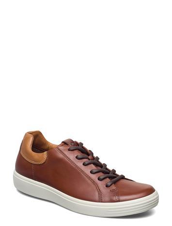 ECCO Soft 7 M Matalavartiset Sneakerit Tennarit Ruskea ECCO MAHOGANY/LION