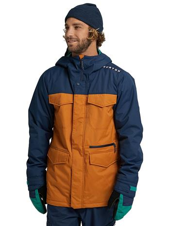 Burton Covert Slim Jacket drsblu / trupey Miehet