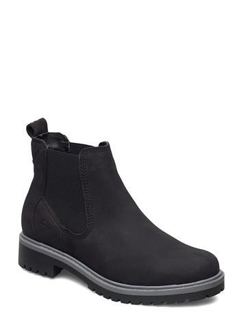 Tamaris Woms Boots Shoes Chelsea Boots Musta Tamaris BLACK