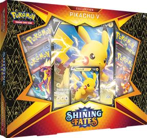 Pokemon Shining Fates Collection Pikachu V