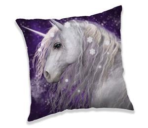 Unicorn Purple -koristetyyny 40 x 40 cm