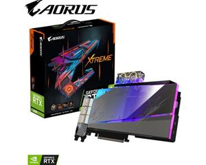 Gigabyte GeForce RTX 3080 AORUS XTREME WATERFORCE WB 10 GB, PCI-E, näytönohjain