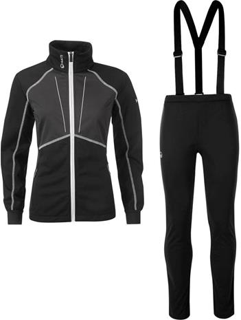 Halti XC Warm Women's Softshell Set Musta 40