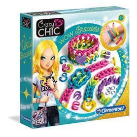 CLEMENTONI CRAZY CHIC WOW bracelets setti, 78525