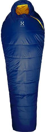 Haglöfs Tarius -5 Sleeping Bag 205cm, midnight blue/tangerine