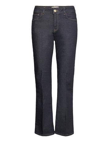 MOS MOSH Cecilia Cover Jeans Leveälahkeiset Farkut Sininen MOS MOSH DARK BLUE