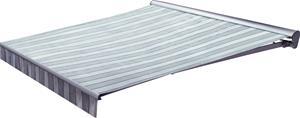 Puolikasettimarkiisi SunFun Design Harmaa 4 x 2,5 m