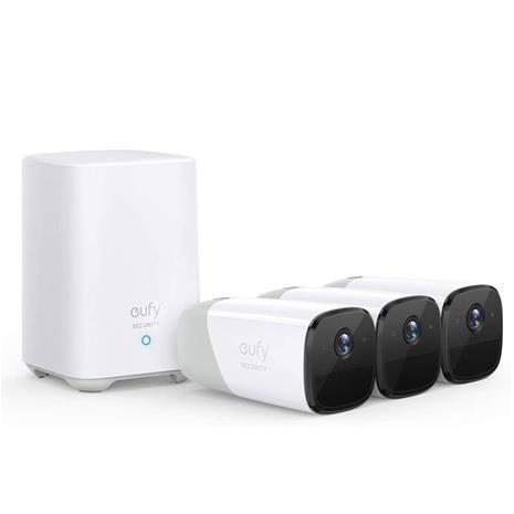 Anker eufyCam 2 Pro, valvontajärjestelmä, 3 kameraa