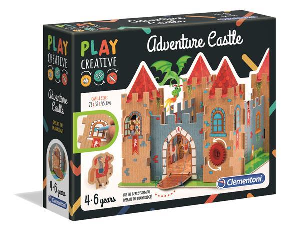 CLEMENTONI Lelu The castle of adventures