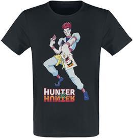 Hunter x Hunter - Hisoka Morow - T-paita - Miehet - Musta