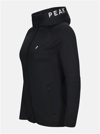 Peak Performance Rider Zip Hood Women Musta S