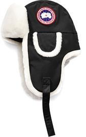 Canada Goose Arctic Tech Shearling Co-Pilot Hat Musta S/M