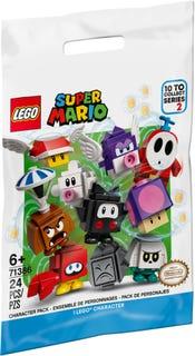 Lego Super Mario 71386, Hahmopakkaukset sarja 2