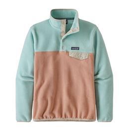 Patagonia Naisten Synchilla® Snap-T® Fleece - Kierrätetystä Polyesterista, Scotch Pink / S