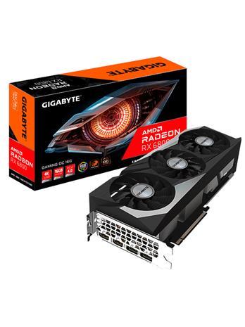 Gigabyte Radeon RX 6800 GAMING OC 16 GB, PCI-E, näytönohjain
