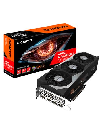 Gigabyte Radeon RX 6800 XT GAMING OC 16 GB, PCI-E, näytönohjain