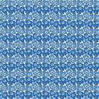 Marimekko Mini Unikko kangas Sininen-valkoinen