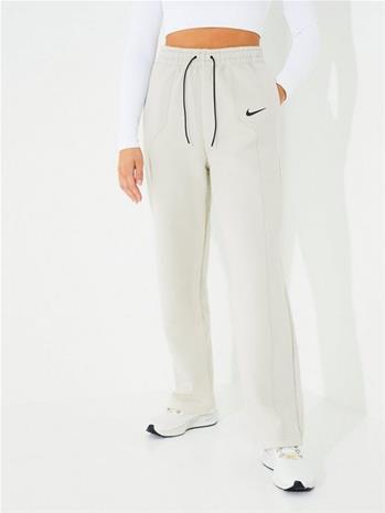 Nike W Nsw Tech Flc Eng Aoj Pant Bone