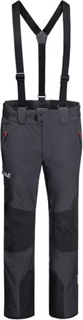 Jack Wolfskin Solitude Mountain Pants Men, ebony