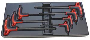 Ruuvimeisselisetti Facom MOD.89TXA; Torx; 7 kpl.