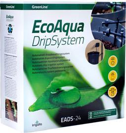 GreenLine EcoAqua DripSystem EADS-24, automaattinen tippukastelujärjestelmä