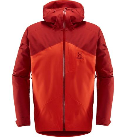 Haglöfs Niva Insulated Jacket Men Rubin M