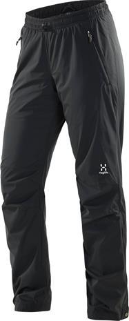 Haglöfs Aero Pant Women Musta XL