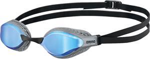 arena Airspeed Mirror Swimglasses, blue/silver, Uintitarvikkeet