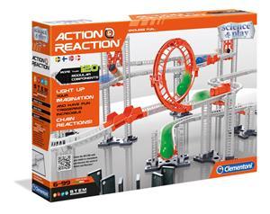 Clementoni Action and Reaction painovoimakokeita