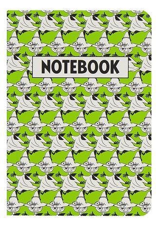 Moomin Pop Art Nuuskamuikkunen A6 muistikirja