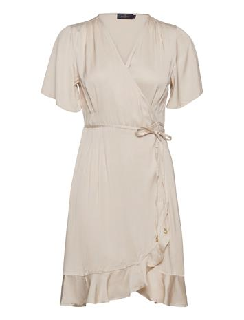 Morris Lady Line Dress Polvipituinen Mekko Valkoinen Morris Lady OFF WHITE