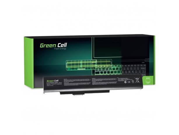 Green Cell kannettavan akku MSI A6400 CR640 CX640 MS-16Y1 / 11,1V 4400mAh