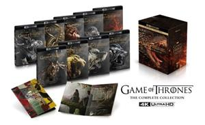 Game of Thrones - The Complete Collection (4k UHD Blu-ray), TV-sarja