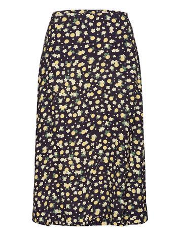 Morris Lady Fleurette Skirt Polvipituinen Hame Sininen Morris Lady NAVY
