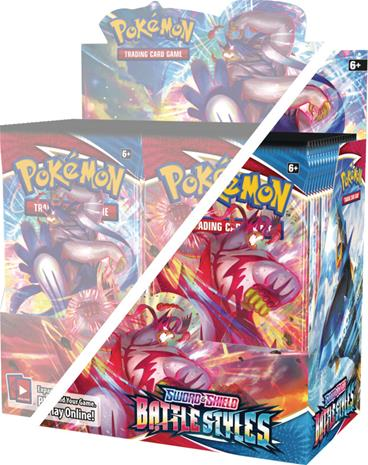 Pokemon SWSH5: Battle Styles Half Box (18 Boosters)