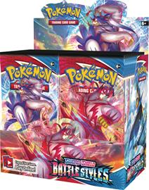 Pokemon SWSH5: Battle Styles Booster Display Box