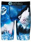 Ethika Snow Cap Dog Boxershorts blue / white Miehet