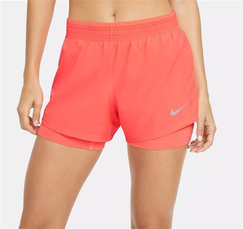 Nike naisten shortsit 2IN1, koralli S