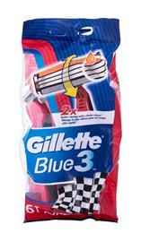 Gillette Blue3 Nitro partahöylä miehelle 6 kpl