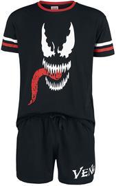 Venom (Marvel) - Tongue - Pyjama - Miehet - Musta punainen valkoinen