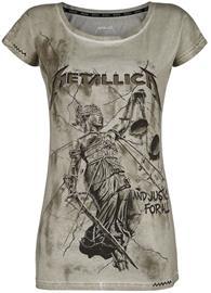 Metallica - EMP Signature Collection - T-paita - Naiset - Khaki